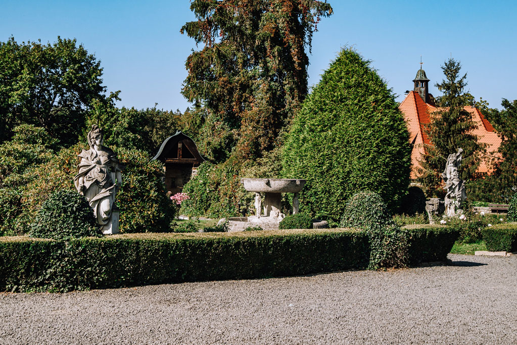 Ogrody zamkowe