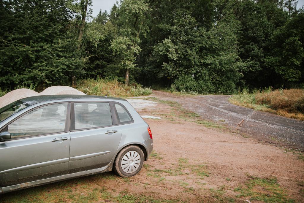 Miejsce, przy którym można zostawić samochód