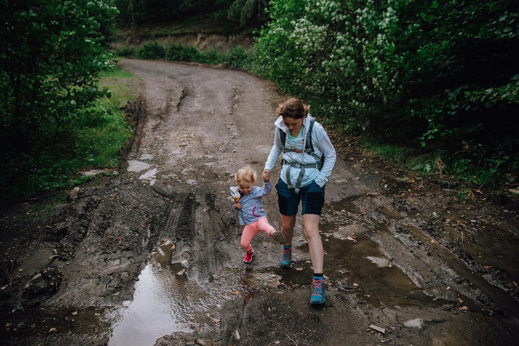 Szlak na Hrobaczą Łąkę z dzieckiem