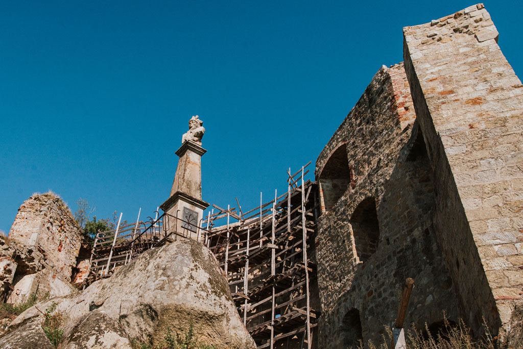 Zamek Kamieniec - ruiny