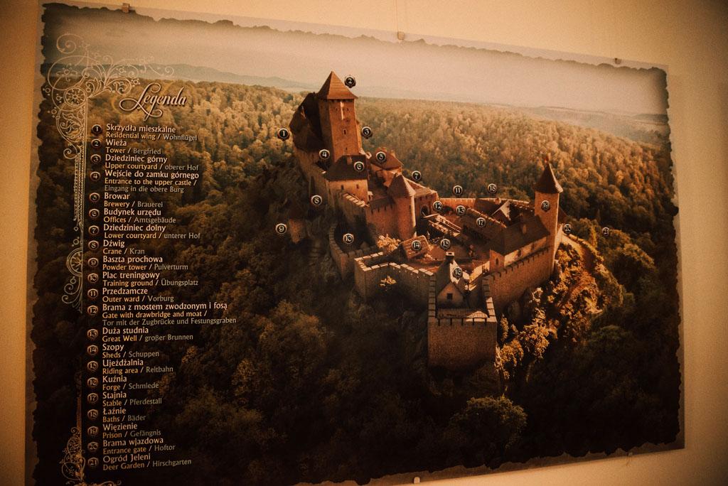 Zamek Książ na obrazie