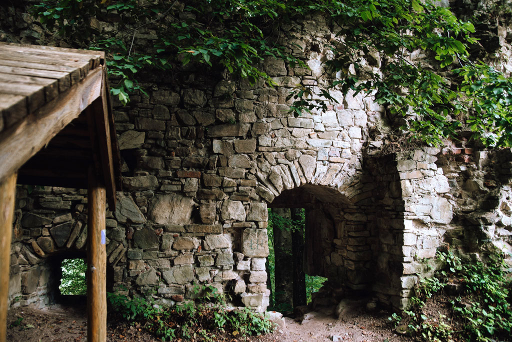 Manasterzec - zamek