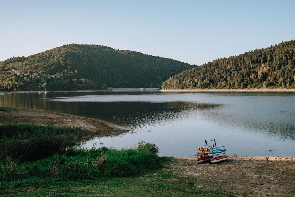 Zbiornik wodny Klimkówka