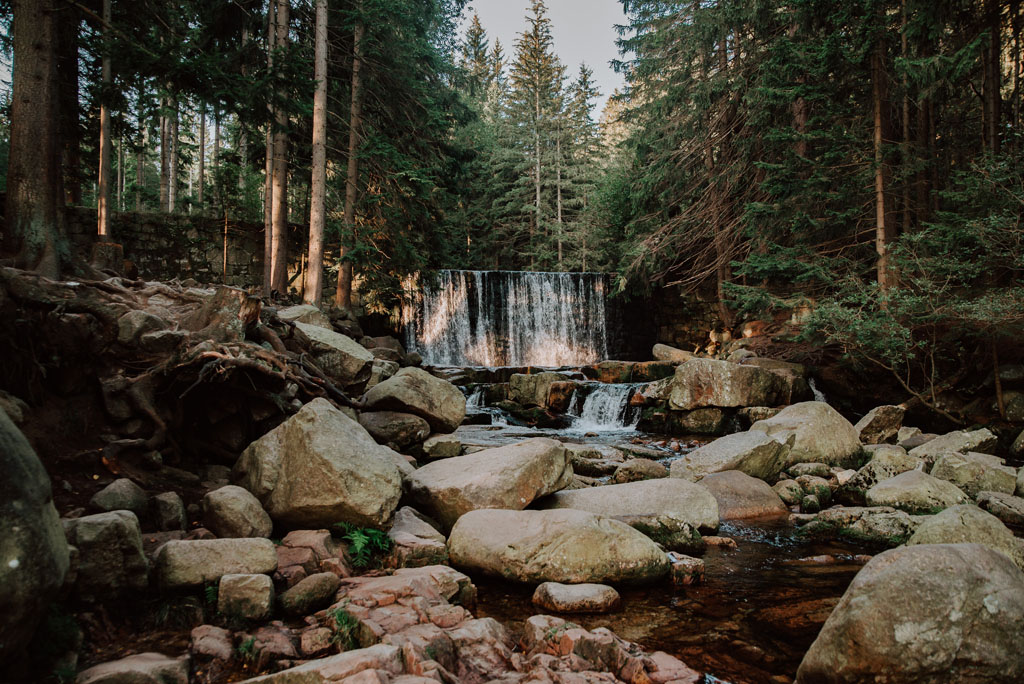 Dziki Wodospad na Łomnicy