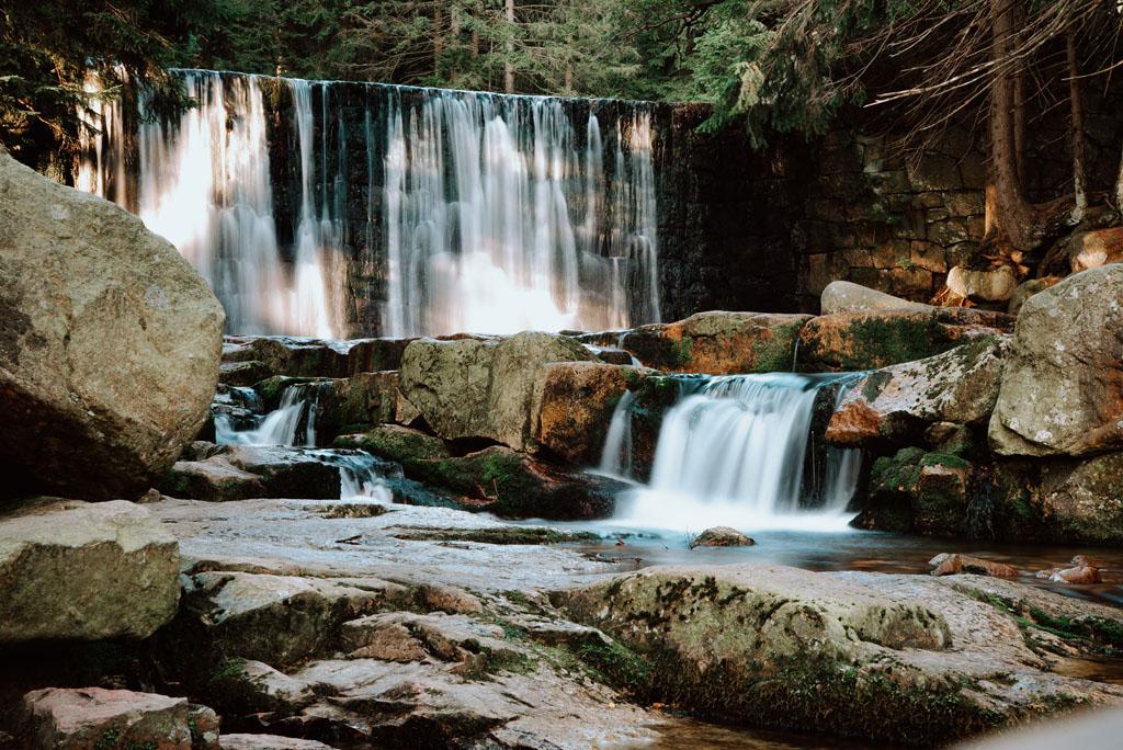 Dziki Wodospad - atrakcja Karpacz