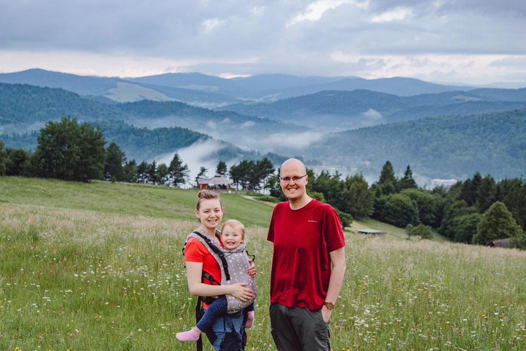 Góry z dzieckiem Malnik