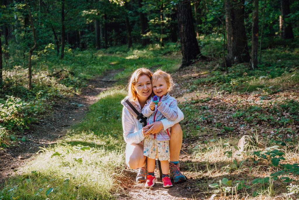 Korona Kaczawska z dzieckiem