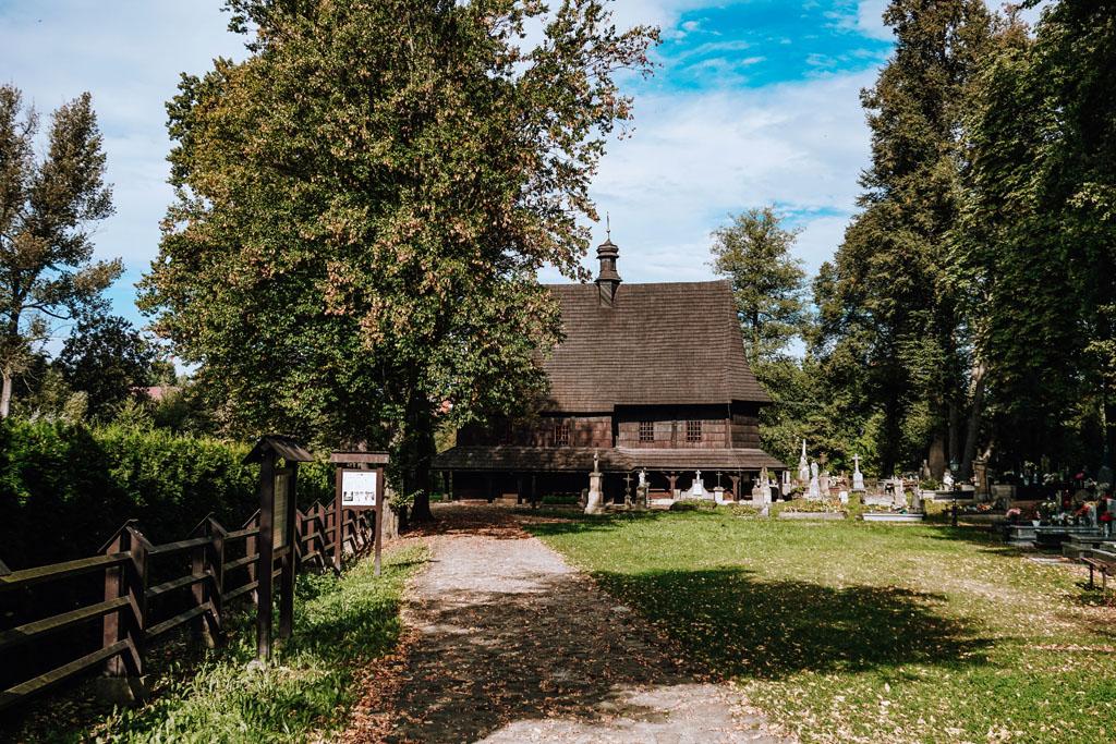 Kościół wpisany na listę UNESCO w Lipnicy Murowanej