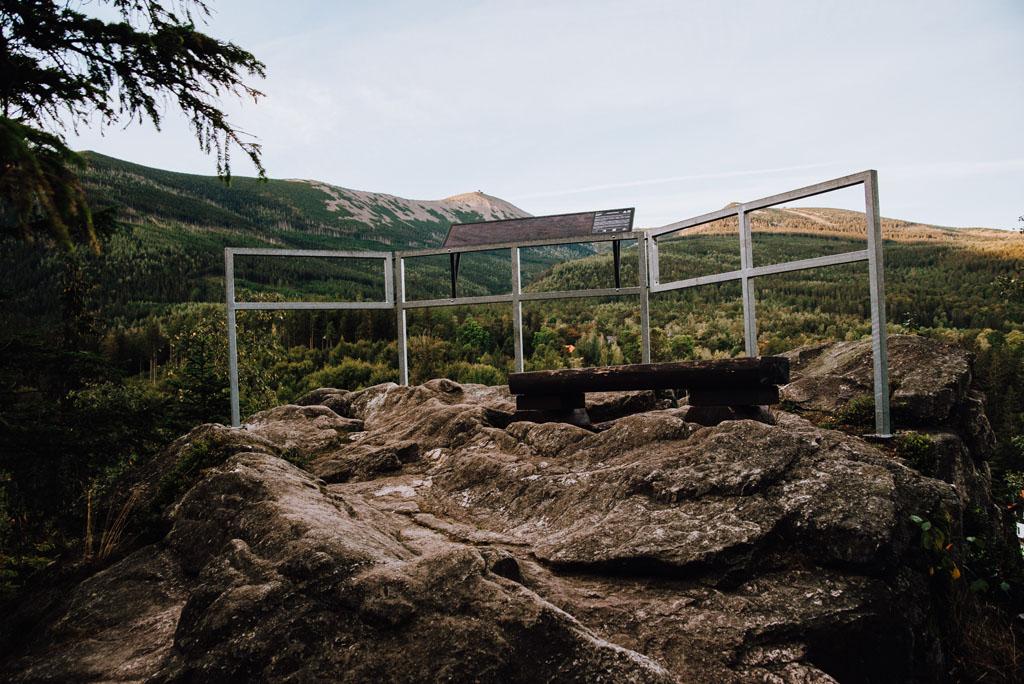 Punkt widokowy Krucze Skały - Karpacz