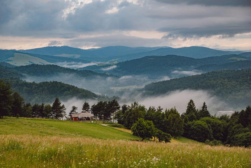 Malnik - Góry Leluchowskie