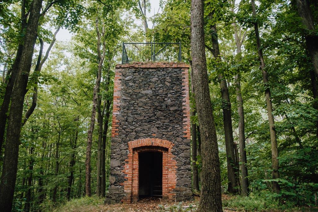 Mszana wieża widokowa