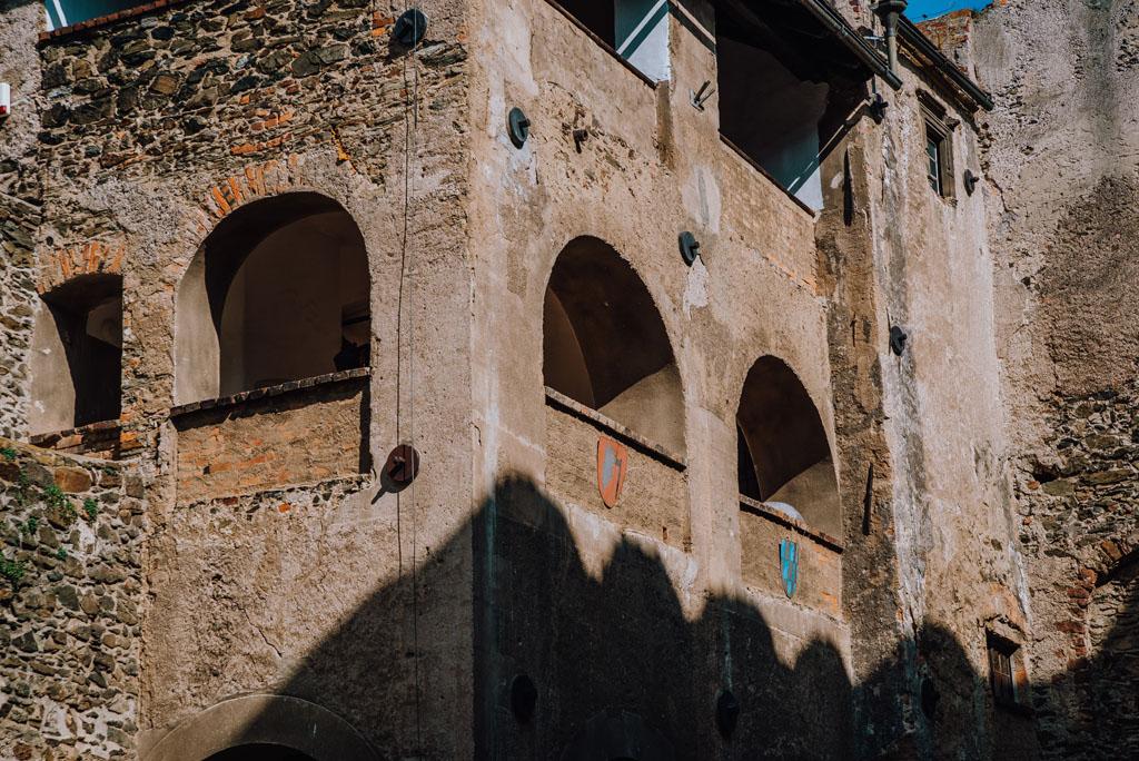 Okna zamkowe - Bolków