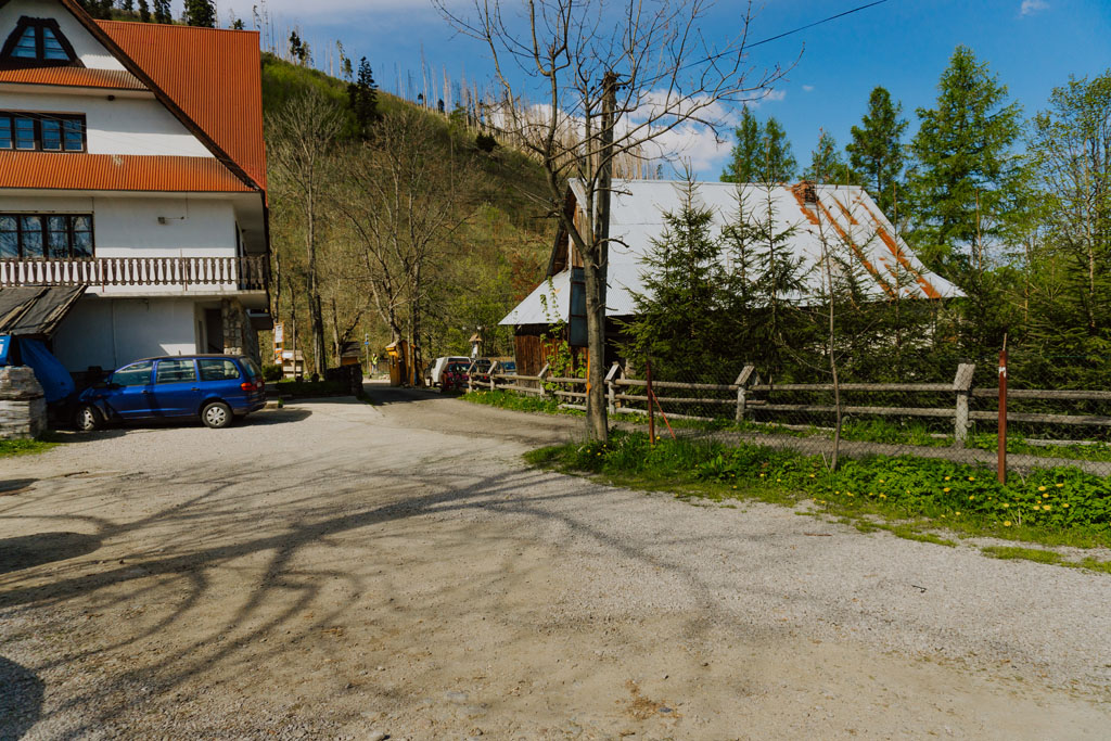 Dolina Kościeliska parking