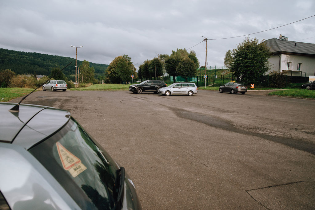 Parking pod Gromadzyniem