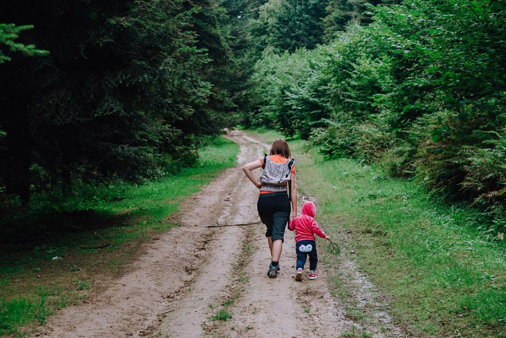 Podejście na Holicę z dzieckiem