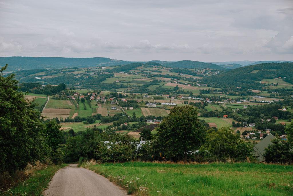 Punkt widokowy w Kątach