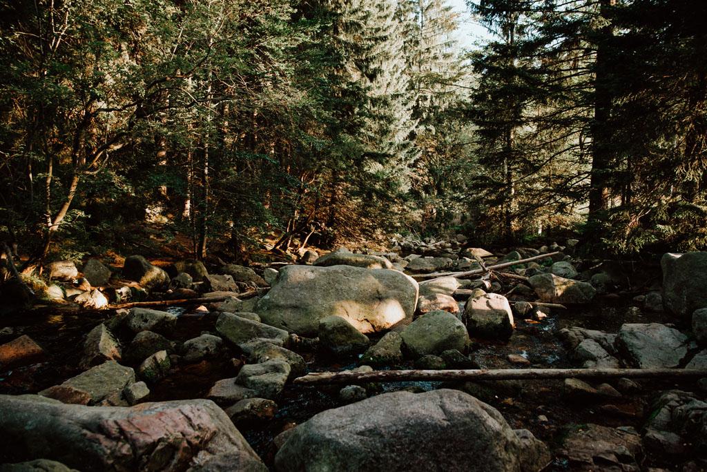Rzeka Łomnica Karpacz