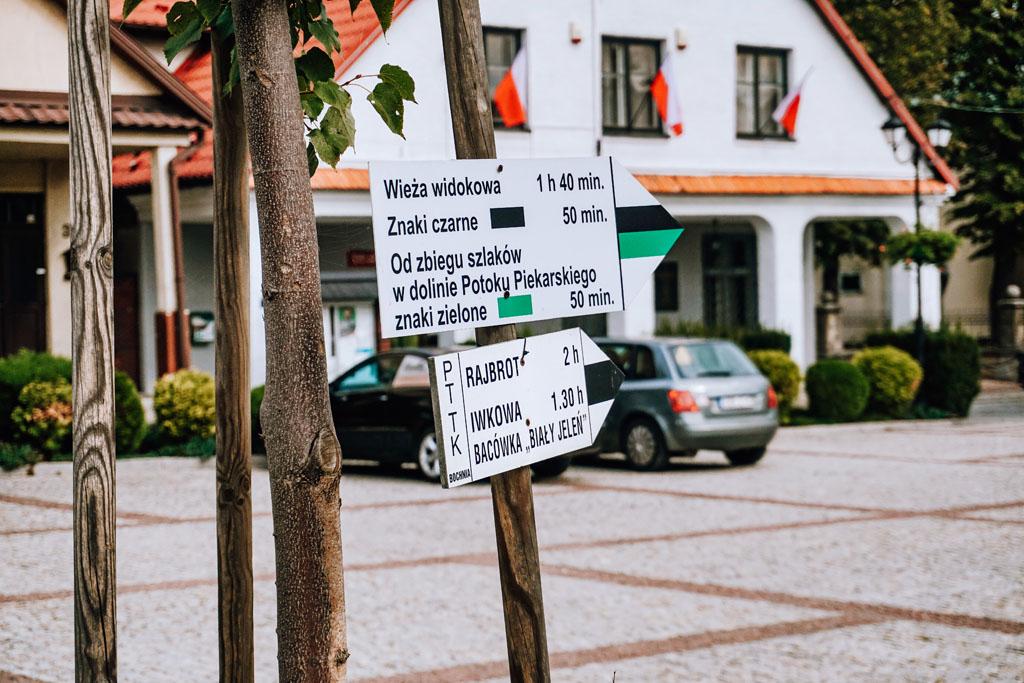 Szlaki turystyczne w Lipnicy Murowanej