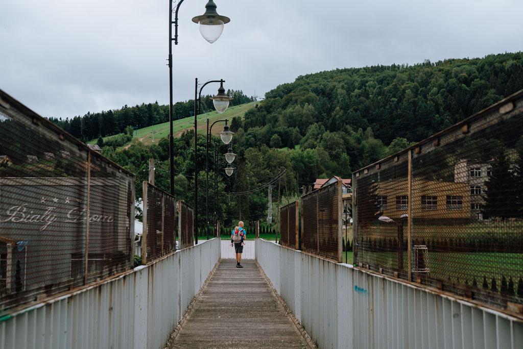 Ustrzyki Dolne most
