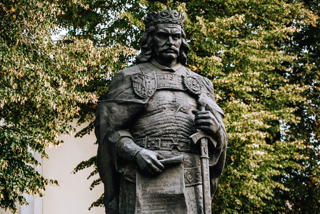 Pomnik - Władysław Łokietka