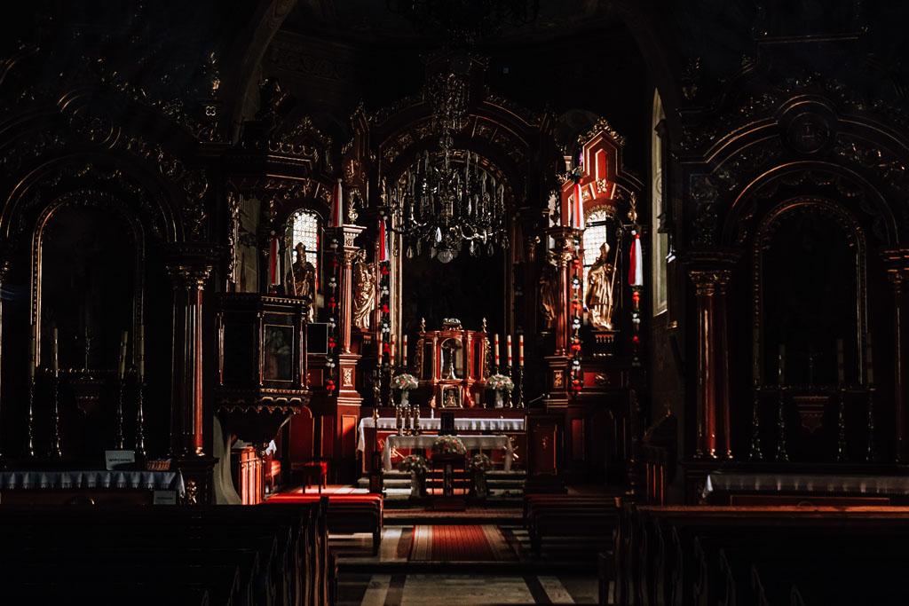 Wnętrze kościoła Świętego Andrzeja w Lipnicy Murowanej