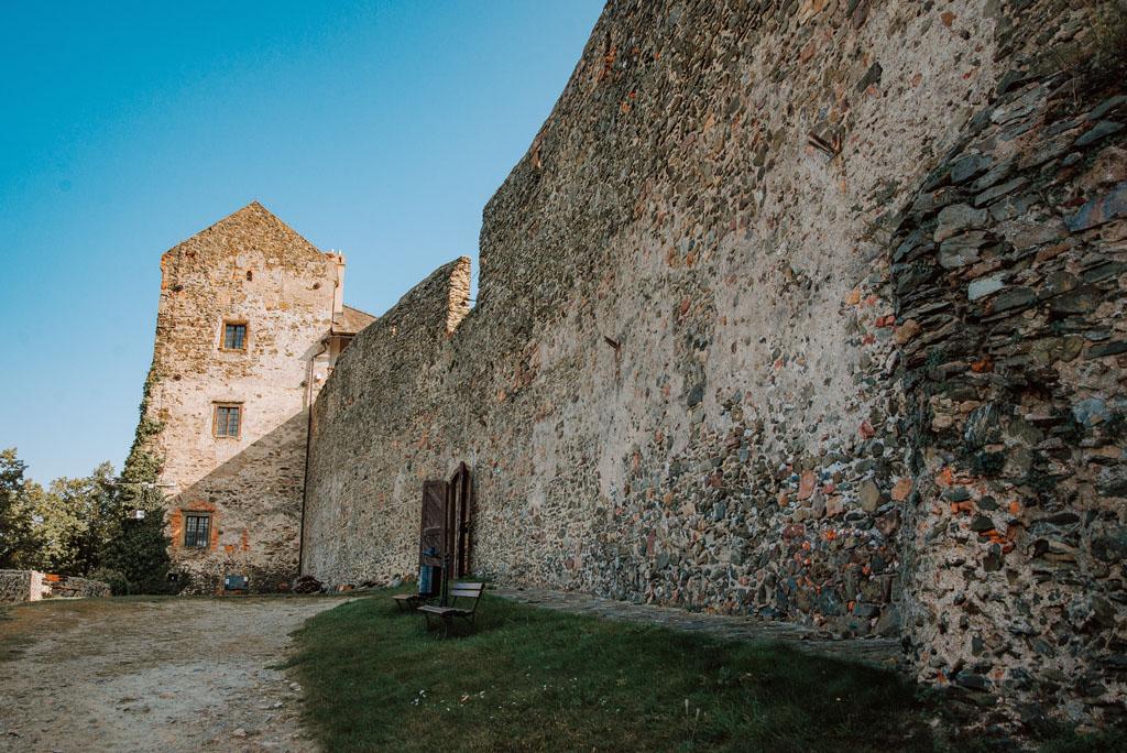 Mury obronne Zamku Bolków