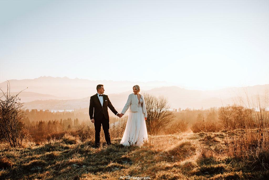 Sesja ślubna w Czorsztynie