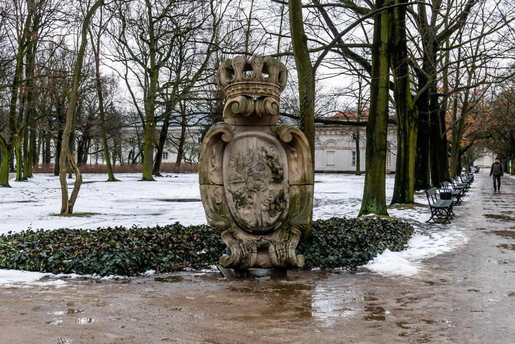 Dojście do Pałacu Myślewickiego