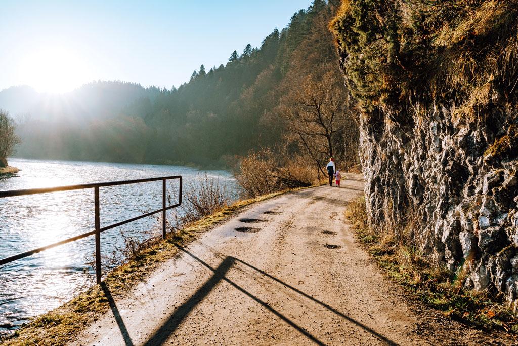 Dunajec - szlak na Sokolicę