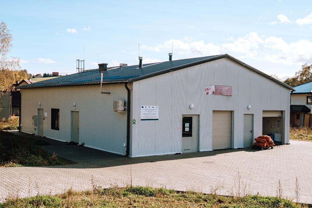 Budynek Inkubatora w Korzennej