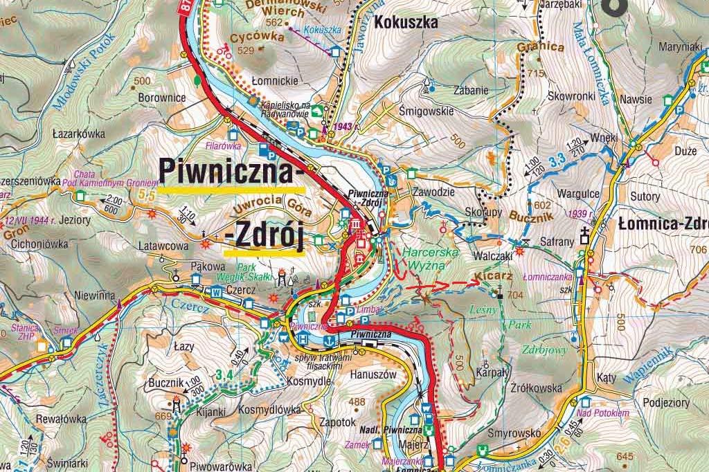 Mapa - Kicarz
