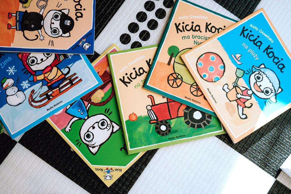 Książeczka dla dzieci - Kicia Kocia