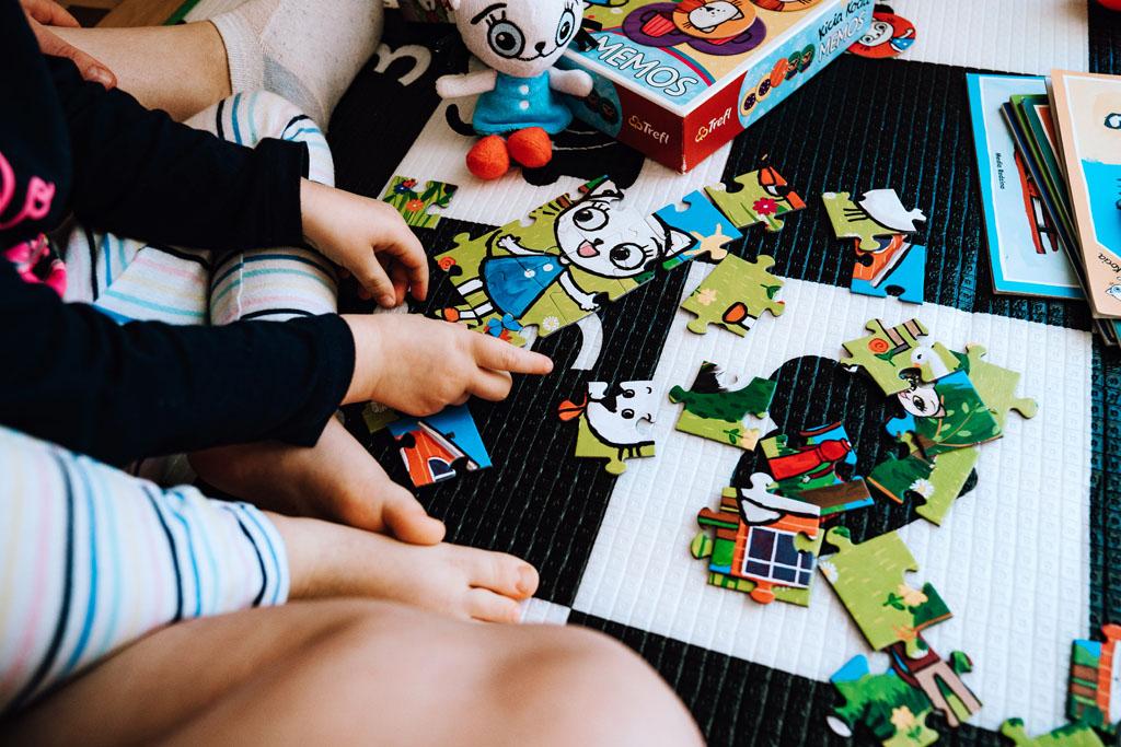 Kicia Kocia puzzle