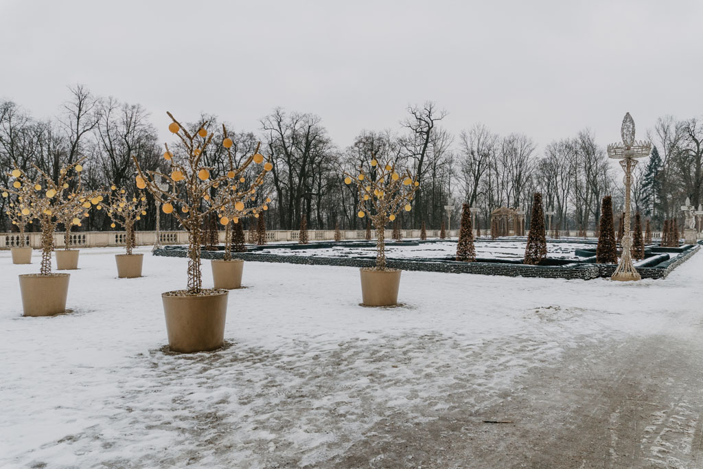 Ogród światła Warszawa