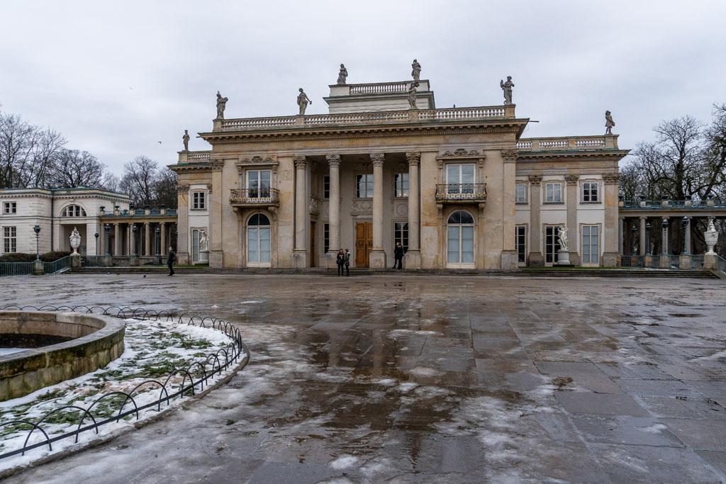 Pałac na Wodzie - Łazienki Królewskie