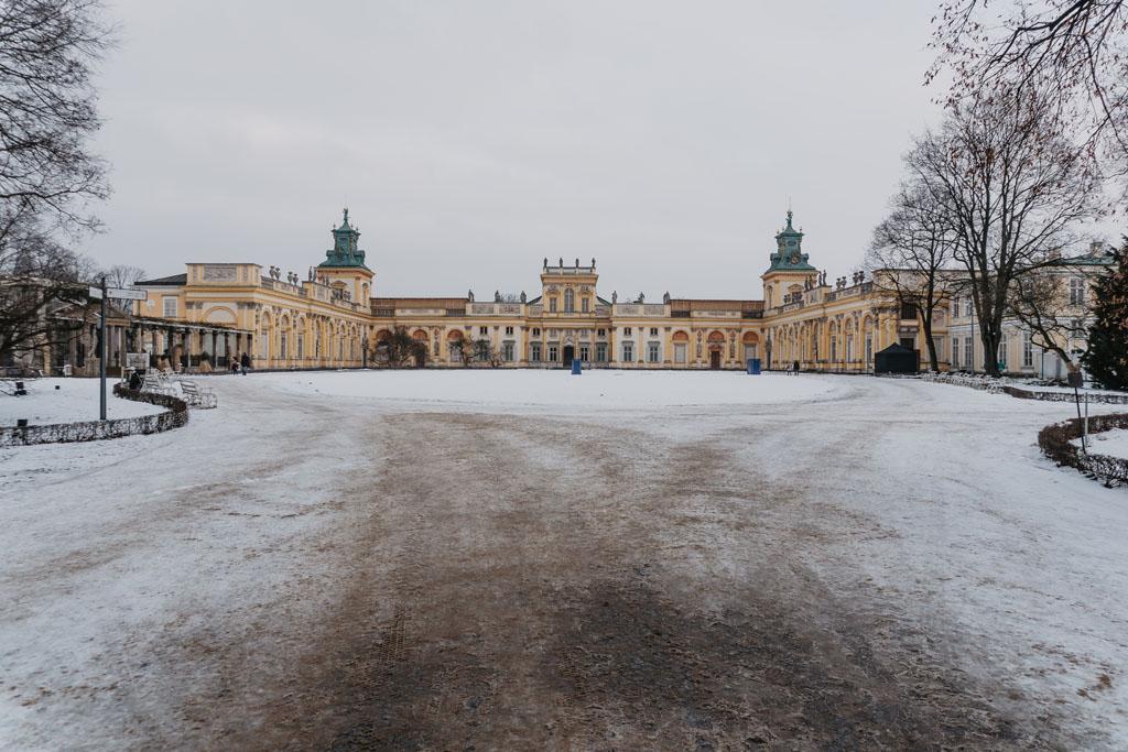 Pałac Wilanów w Warszawie