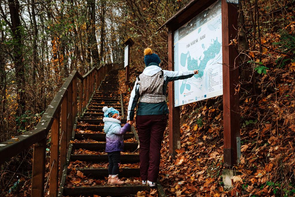 Wejście do Parku Węgielnik-Skałki