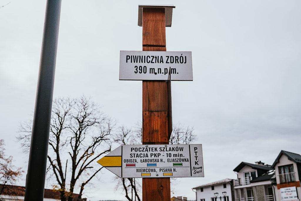 Piwniczna-Zdrój szlaki turystyczne