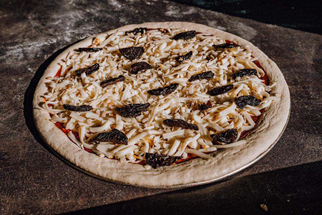 Pizza śliwkowa w Iwkowej