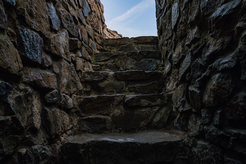Kamienne schody