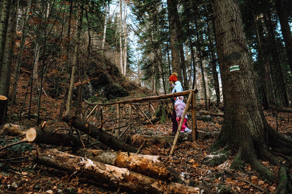 Sokolica - Szlak zielony z dzieckiem