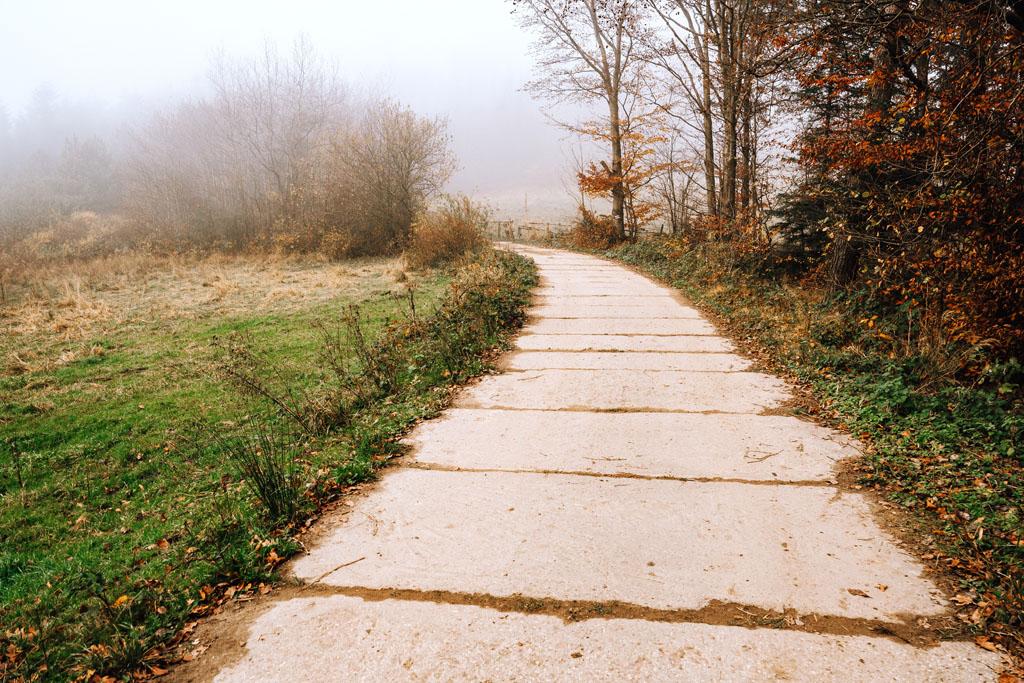 Szlak z Lubomira do Myślenic