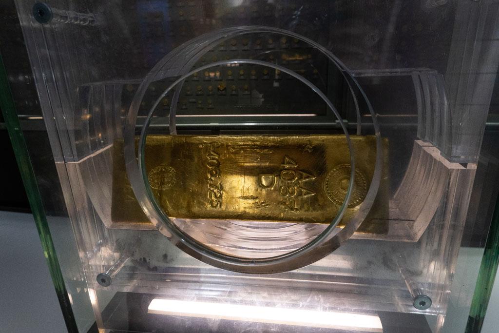 Sztabka złota Centrum Pieniądza NBP