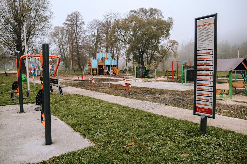 Plac zabaw w Myślenicach-Zarabiu