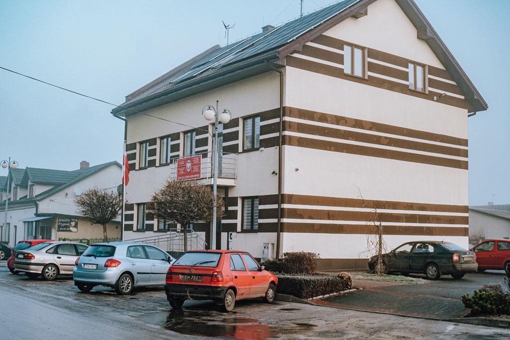 Budynek Urzędu Miasta w Opatowcu