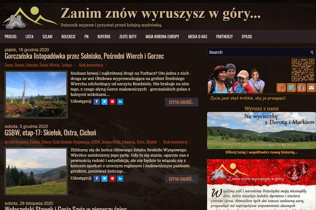 Dorota i Marek Szala - Zanim znów wyruszysz w góry
