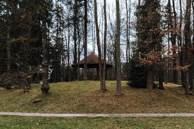 Park Zdrojowy Wysowa-Zdrój