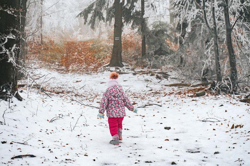 Szlak na Kozie Żebro z dzieckiem
