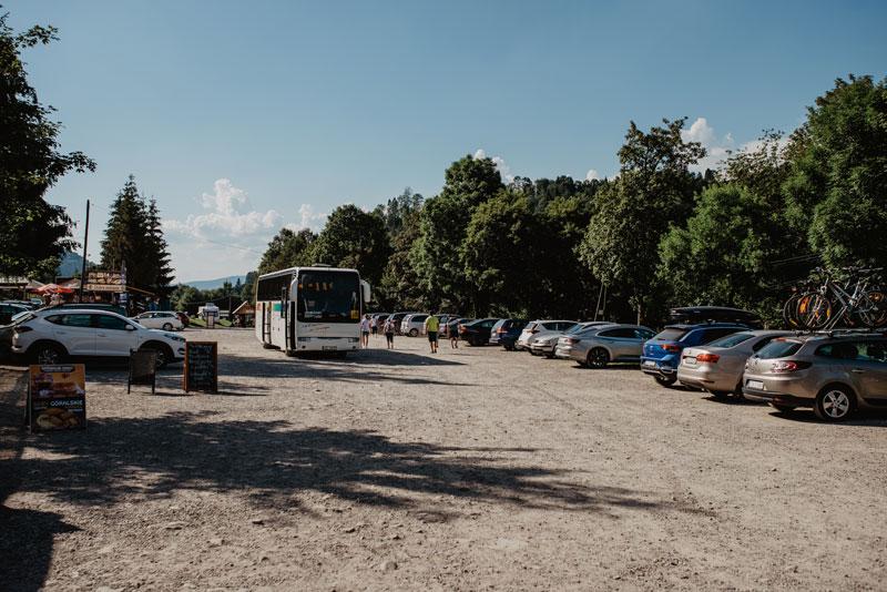 Parking Wąwóz Homole