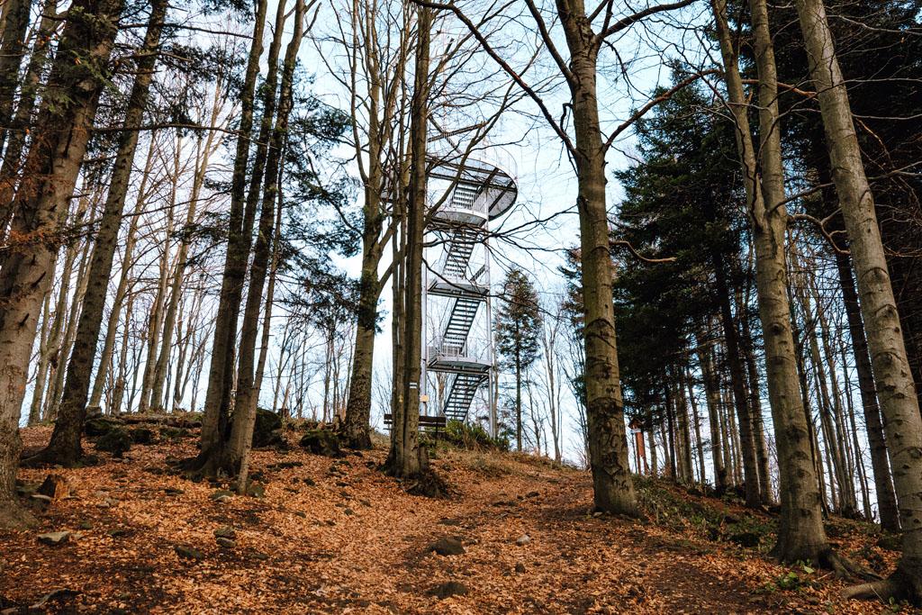 Wieża widokowa Jaworze koło Grybowa